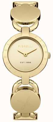 Fiorelli Womens cadran en or bracelet en or FO001GM