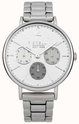 Fiorelli Womens bracelet en argent cadran blanc FO002SM