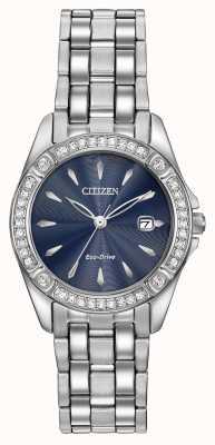 Citizen Womens cas eco-drive silhouette cristal EW2350-54L