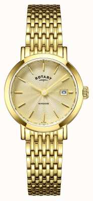 Rotary Ladies montres plaqué or windsor LB05303/03