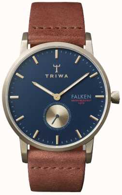 Triwa Cadran bleu marine en cuir unisexe FAST104-CL010217
