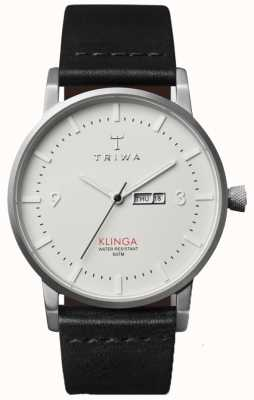 Triwa ivoire unisexe bracelet cadran en cuir KLST101-CL010112