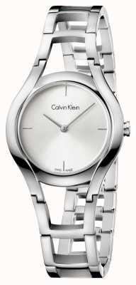 Calvin Klein plaqué Femmes classe argent K6R23126
