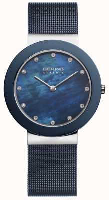 Bering Womens cadran bleu bracelet bleu 11435-387