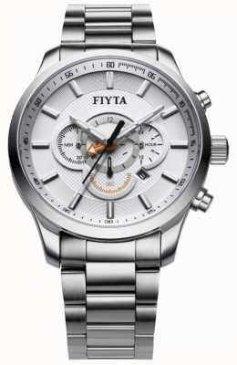 FIYTA montre chronographe en acier inoxydable G788.WWW
