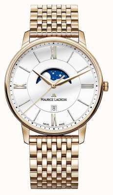 Maurice Lacroix plaqué or montre de moonphase de Mens EL1108-PVP06-112-1