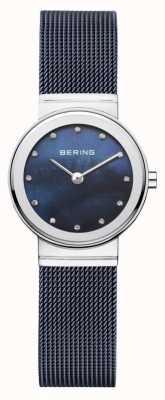 Bering marine Womans cadran bracelet bleu marine 10126-307