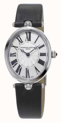 Frederique Constant Classics art déco femmes bracelet noir nacre blanche FC-200MPW2V6