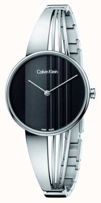 Calvin Klein Montre Drift avec cadran noir K6S2N111