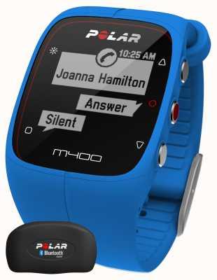 Polar Traqueur d'activité m400 bluetooth gps bluetooth (bleu avec heure) 90057189