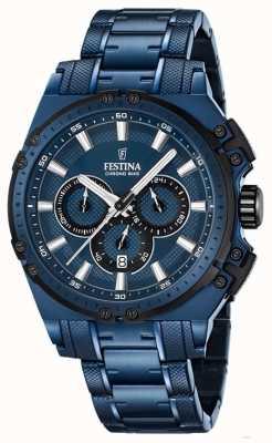 Festina Edition spéciale mens montre chronographe F16973/1