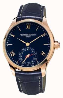Frederique Constant bleu smartwatch Horological rose bluetooth or FC-285N5B4