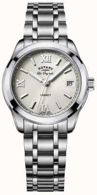 Rotary Womens les originales en acier inoxydable héritage LB90173/06