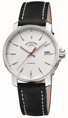 Muhle Glashutte Bracelet en cuir noir 29er cadran blanc M1-25-21-LB
