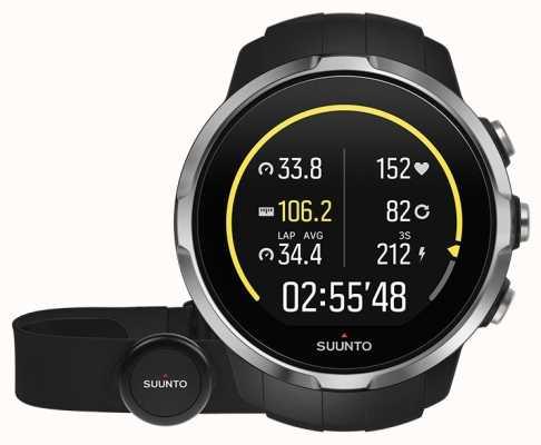 Suunto Spartan sport black (hr belt) SS022648000
