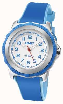 Limit Bande de résine bleue active active cadran blanc 5600.24
