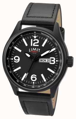 Limit Hommes bracelet noir bracelet cadran noir 5621.01