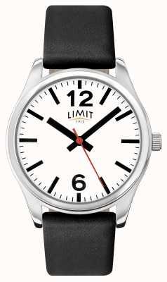 Limit Cadran blanc à bracelet noir 5626.01