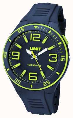 Limit Bracelet en cuir marine pour homme 5569.24