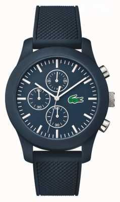 Lacoste caoutchouc marine unisexe cadran bracelet marine chronographe 2010824