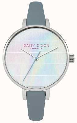 Daisy Dixon kylie Womens bracelet en cuir bleu cadran multicolore DD024US