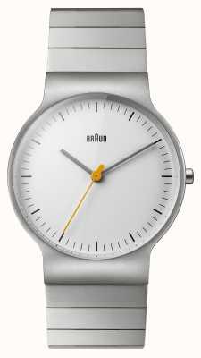 Braun Bracelet en acier inoxydable pour homme BN0211SLBTG