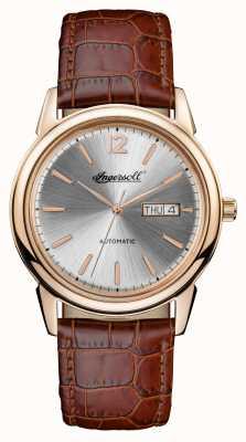 Ingersoll Mens 1892 la nouvelle ceinture de cuir marron haven I00503