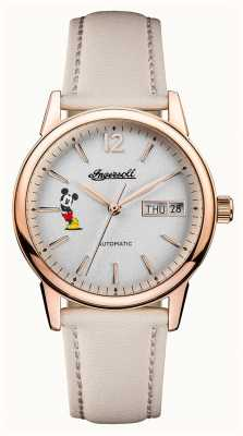 Disney By Ingersoll Womens union le nouveau bracelet en cuir de disney haven ID01102