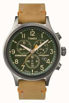 Timex Mens scout chronographe cadran vert TW4B04400