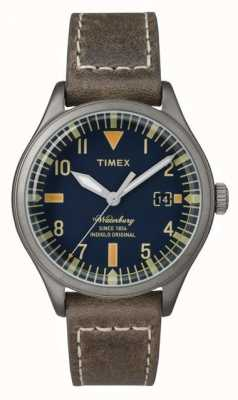 Timex Unisexe la marine waterbury cadran bracelet brun TW2P84400