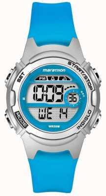 Timex Alarme marathon pour enfants chronographe bleu TW5K96900