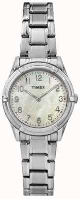 Timex Womans easton avenue bracelet cadran en acier perle TW2P76000