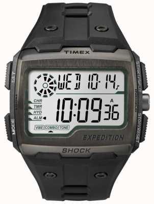 Timex Mens alarme de choc grille chronographe tout noir TW4B02500