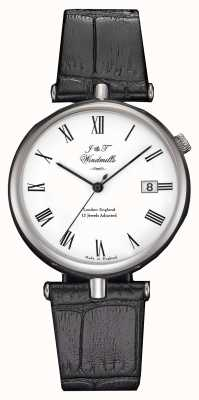 J&T Windmills Montre mécanique Threadneedle homme bracelets noirs WGS10004/01