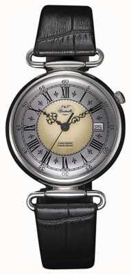 J&T Windmills Montre mécanique en argent sterling Throgmorton pour homme WGS10002/50