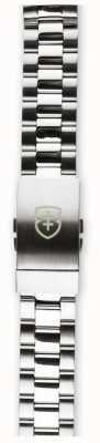 Elliot Brown Bracelet en acier inoxydable brossé et poli 18mm pour homme seulement STR-B01