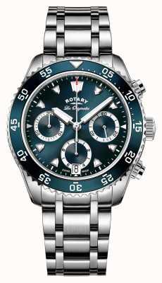 Rotary Mens swiss made chronographe de plongée héritage GB90170/05