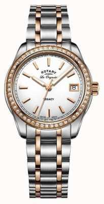 Rotary Womens héritage les originales en acier inoxydable deux tons LB90175/01