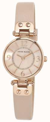 Anne Klein Bracelet en cuir pour femme en cuir rose 10/N9442RGLP