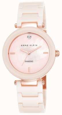 Anne Klein Bracelet en céramique rose pour femme, majesté rose AK/N1018PMLP