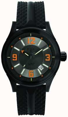 Ball Watch Company Fireman racer dlc bracelet en caoutchouc automatique cadran gris NM3098C-P1J-GYOR