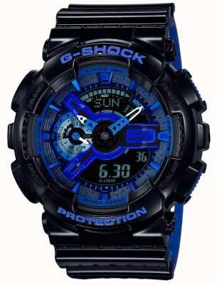 Casio Montre bracelet en caoutchouc G shock pour homme GA-110LPA-1AER