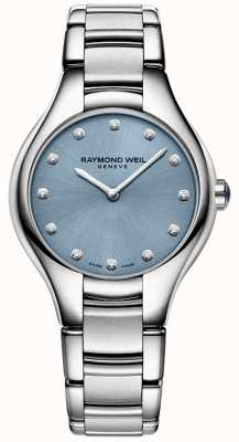 Raymond Weil Womans noemia bleu 12 diamants 5132-ST-50081