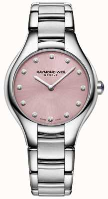 Raymond Weil Womans noemia 12 diamant rose 5132-ST-80081