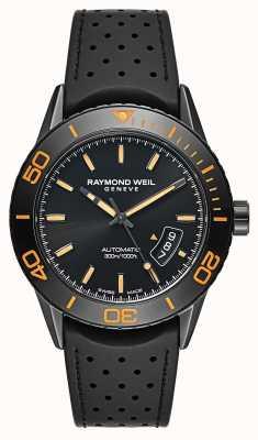 Raymond Weil Mens acier plaqué PVD noir automatique 2760-SB2-20001