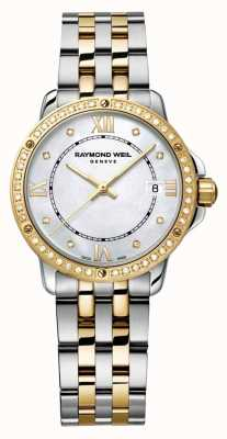 Raymond Weil Womans tango deux tons diamant point nacre 5391-SPS-00995