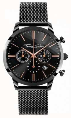 Thomas Sabo Mens rebel spirit chrono | bracelet en acier inoxydable | WA0247-202-203-42