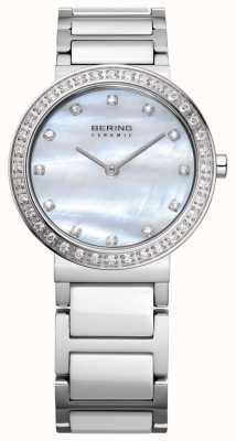 Bering Les femmes d'argent en acier inoxydable 10729-704