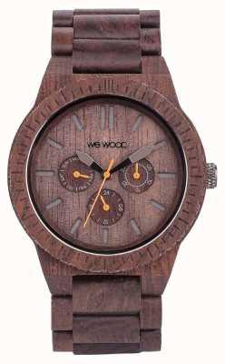 WeWood Mens kappa chocolat bracelet brun en bois 70315500