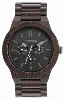 WeWood Bracelet noir en bois noir pour homme kappa 70315300
